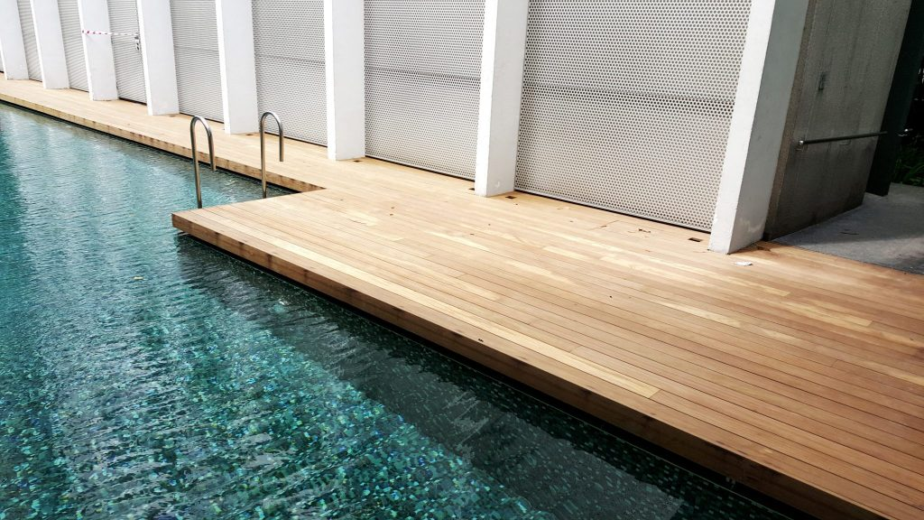 Outdoor Wood Decking in Singapore